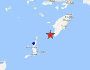 Σεισμός ΤΩΡΑ στην Ρόδο – Τι δείχνουν οι σεισμογράφοι