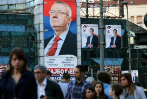 Στις κάλπες οι Σέρβοι για να εκλέξουν πρόεδρο
