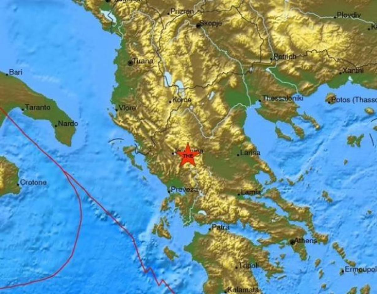 Σεισμός ταρακούνησε τα Ιωάννινα | Newsit.gr