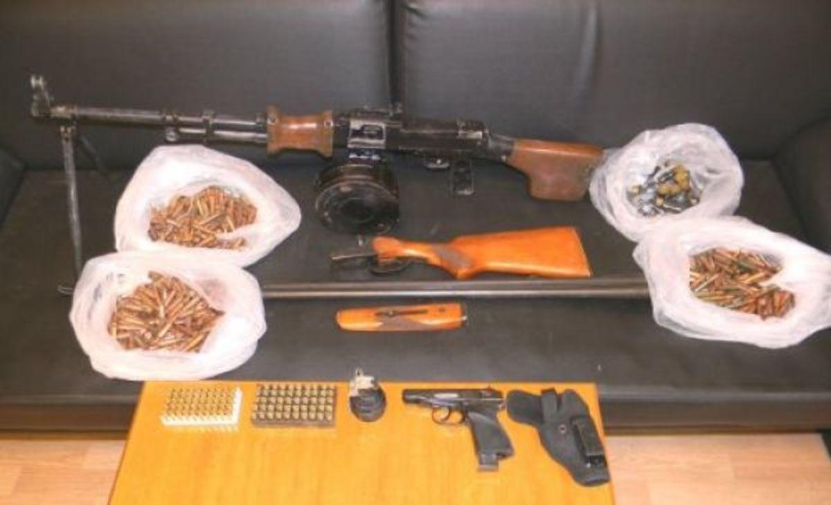 Ρέθυμνο: Ζωοκλέφτης… ράμπο με οπλοπολυβόλο, χειροβομβίδα και 800 σφαίρες!   Newsit.gr
