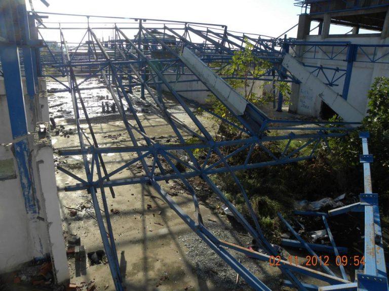Βόλος: Προσπάθησαν να κλέψουν τη… στέγη (!) της πρώην λαχαναγοράς! ΦΩΤΟ | Newsit.gr
