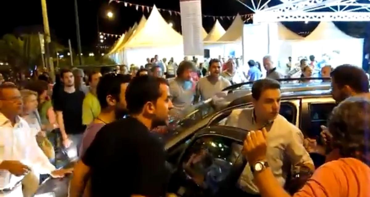Μυτιλήνη: Αποδοκίμασαν τον Νίκο Σηφουνάκη – Δείτε Video | Newsit.gr