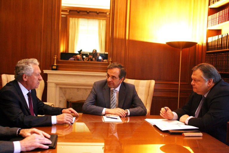 Οι αντιδράσεις των κομμάτων για τη σύσκεψη των τριών | Newsit.gr