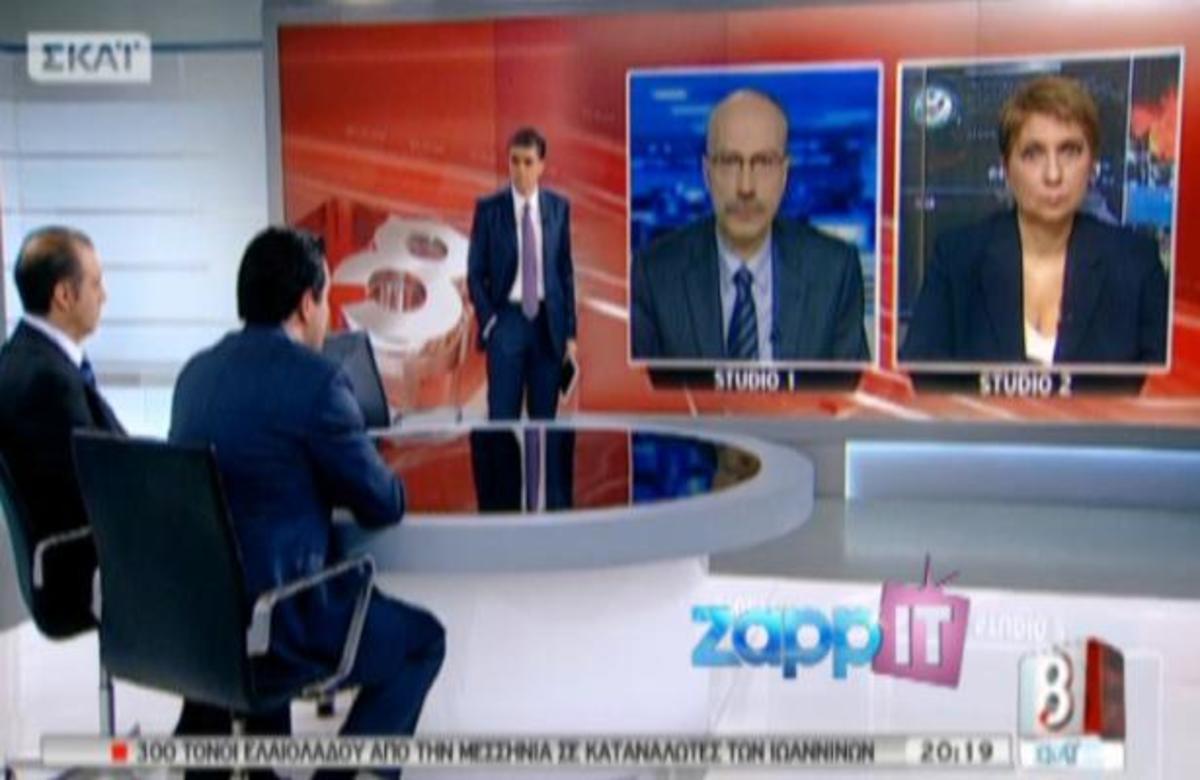 Ο Α. Γεωργιάδης στο «ΣΚΑΙ στις 8» με τον Ν. Ευαγγελάτο! | Newsit.gr