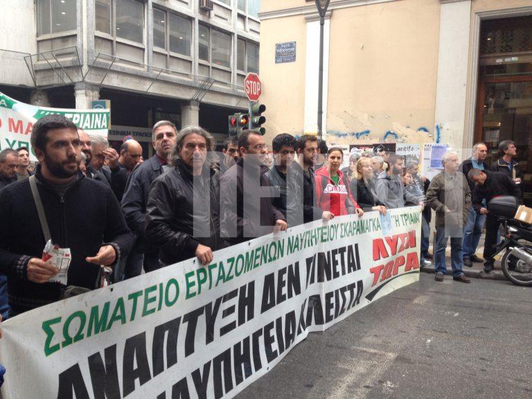 Άκαρπη η συνάντηση Κουκουλόπουλου με εργαζόμενους στα ναυπηγεία – Νέο ραντεβού την Τρίτη στο υπ. Εργασίας | Newsit.gr
