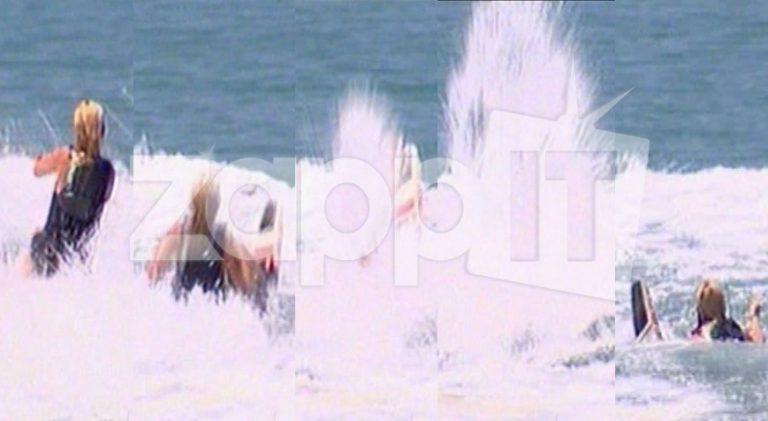 Έπεσε και η Φαίη Σκορδά από τις σανίδες του σκι! Στάθηκε όρθια μόνο για δύο μέτρα!   Newsit.gr