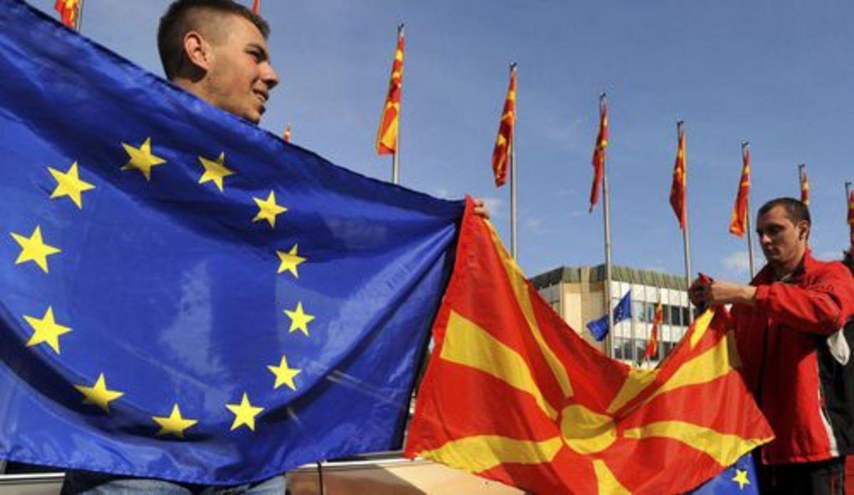 Ξεκινάνε οι διαπραγματεύσεις ένταξης της ΠΓΔΜ στην ΕΕ με την ονομασία να εκκρεμεί   Newsit.gr