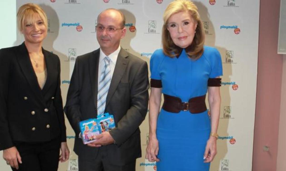 Μ. Βαρδινογιάννη: Στην παρουσίαση του PLAYMOBIL play & give για την υποστήριξη της «Ελπίδας»   Newsit.gr