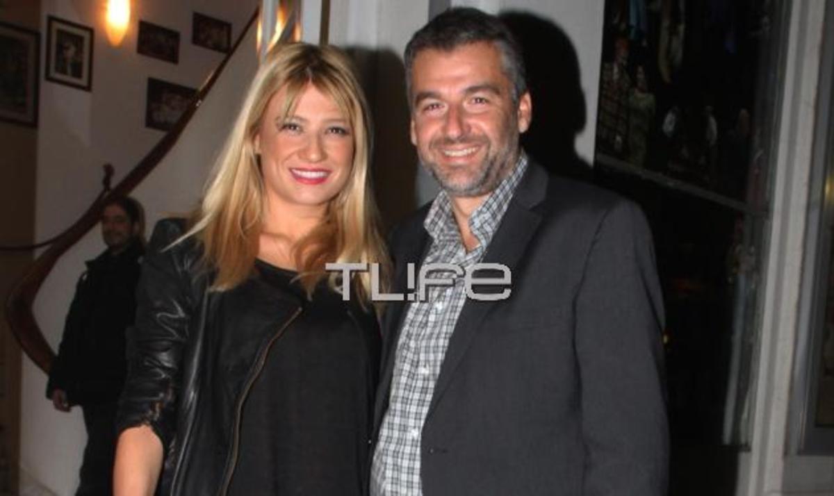 Γ. Λιάγκας – Φ. Σκορδά: Βραδινή έξοδος για δύο! Φωτογραφίες | Newsit.gr
