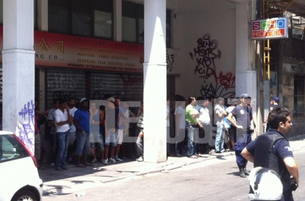 Μία «κωμόπολη» λαθρομεταναστών στα χέρια της ΕΛ.ΑΣ | Newsit.gr