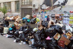 Τετραήμερος εφιάλτης με τα σκουπίδια στο Ηράκλειο