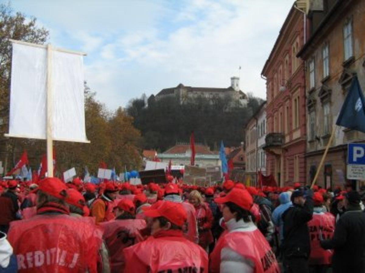 Γενική απεργία αύριο στη Σλοβενία για τα μέτρα λιτότητας – Πορείες σε όλη τη χώρα | Newsit.gr
