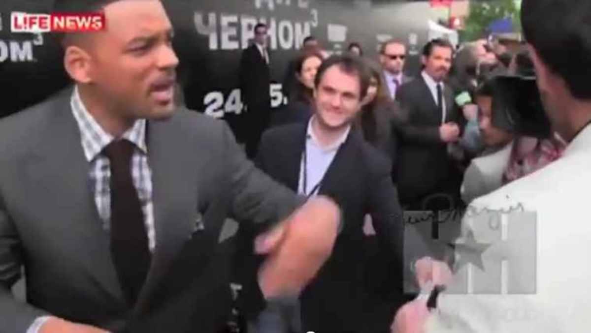 Ο Will Smith χαστουκίζει ρεπόρτερ on camera! | Newsit.gr