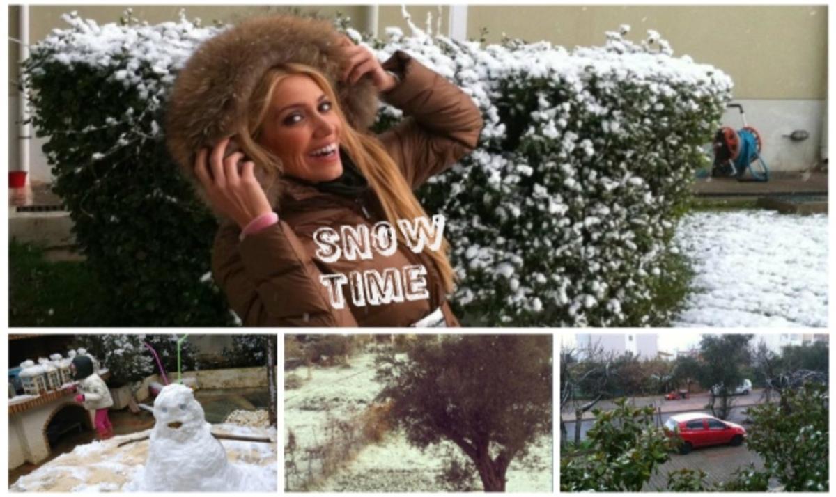 Όταν οι celebrities διασκεδάζουν με το χιόνι! Φωτογραφίες | Newsit.gr