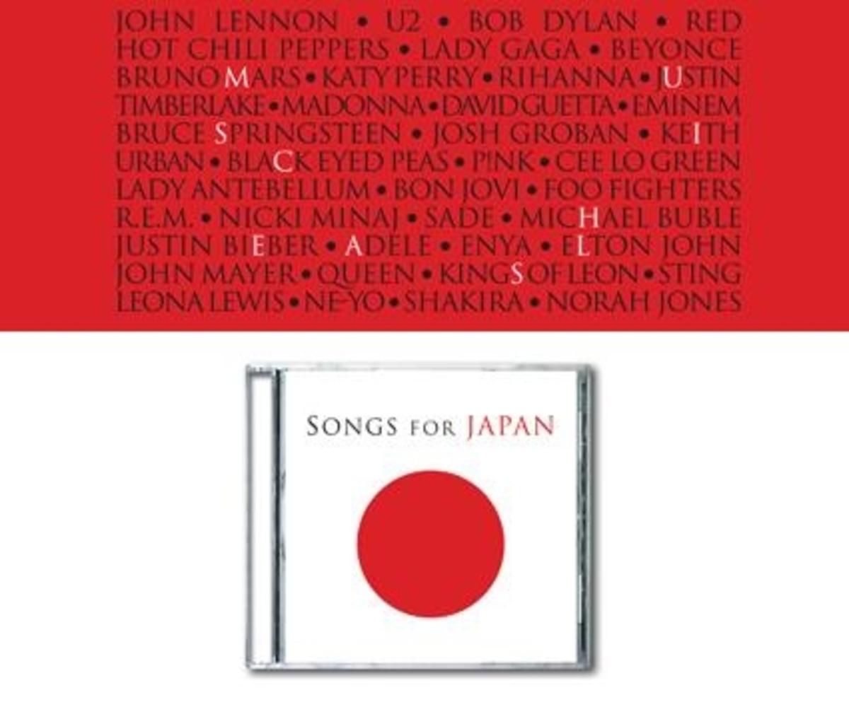 5 εκατομμύρια δολάρια οι πωλήσεις του αλμπουμ Songs for Japan | Newsit.gr