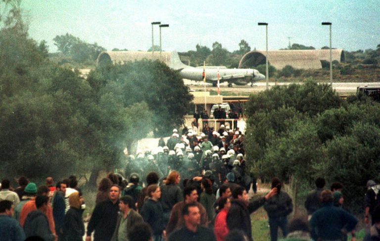 Σούδα: Αντιπολεμικό Συλλαλητήριο στην Αμερικανική Βάση | Newsit.gr