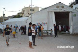 Χίος: Με τροφική δηλητηρίαση 40 πρόσφυγες – Τέλος η τροφοδοσία από το ύποπτο κατάστημα