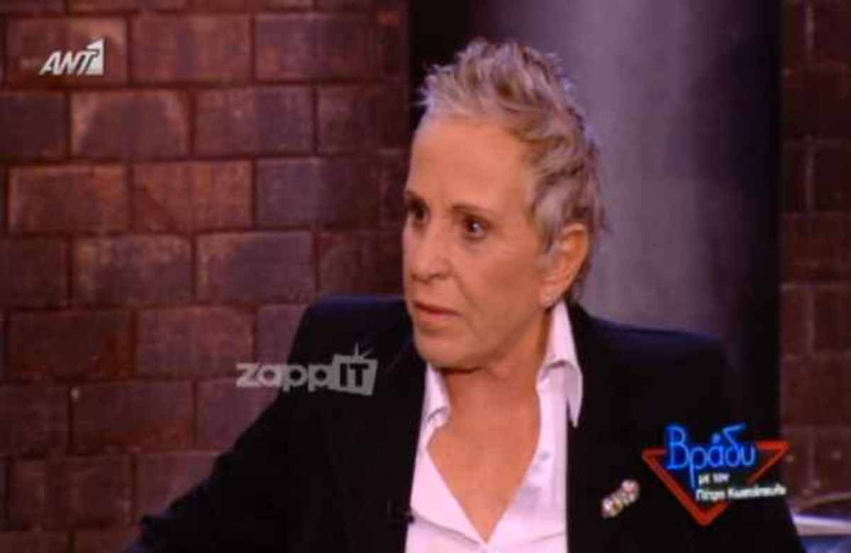Η Σούλα μιλάει στον Πέτρο Κωστόπουλο για τη στιγμή που ο γιος της έμαθε για το επάγγελμα της | Newsit.gr