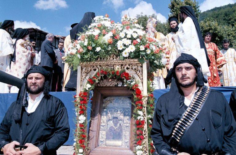 Ιστορική Θεία Λειτουργία στην Παναγία Σουμελά | Newsit.gr