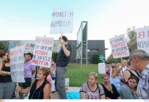 Στα «κάγκελα» οι απλήρωτοι εργαζόμενοι οι εργαζόμενοι στα πρώην σούπερ μάρκετ Αρβανιτίδη