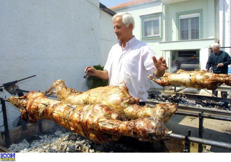 Με καλό καιρό το ψήσιμο του οβελία | Newsit.gr