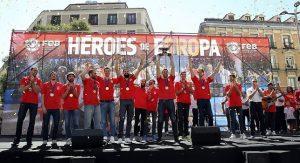 Eurobasket 2015: Αποθεώθηκαν στη Μαδρίτη οι πρωταθλητές Ευρώπης (VIDEO)