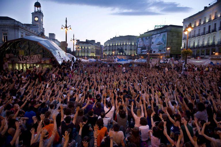 Το μέλλον των κινητοποιήσεων αποφασίζουν οι ισπανοί αγανακτισμένοι   Newsit.gr