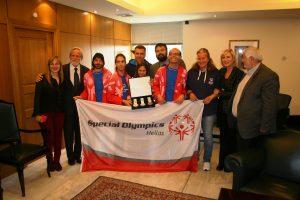 Συνάντηση Βασιλειάδη με πρωταθλητές των Special Olympics