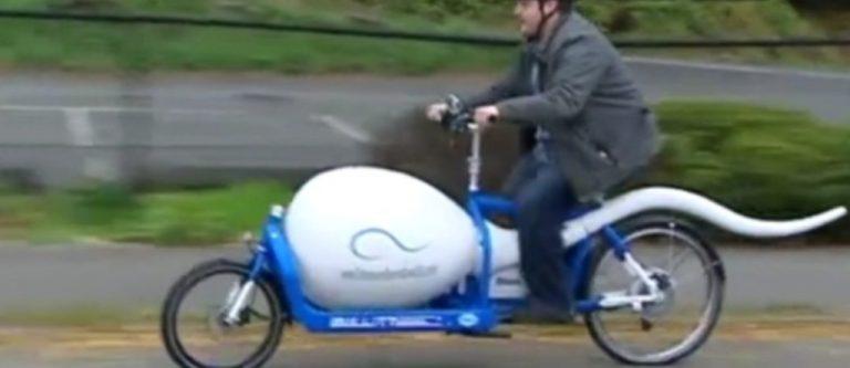 Ποδήλατο… σπερματοζωάριο για καλό σκοπό! Video | Newsit.gr