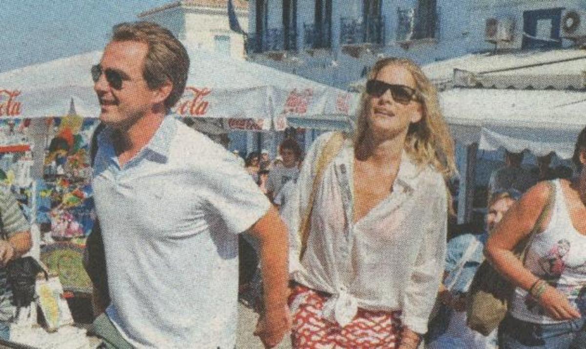 Νικόλαος – Τατιάνα: Γιόρτασαν στις Σπέτσες τη δεύτερη επέτειο του γάμου τους! | Newsit.gr