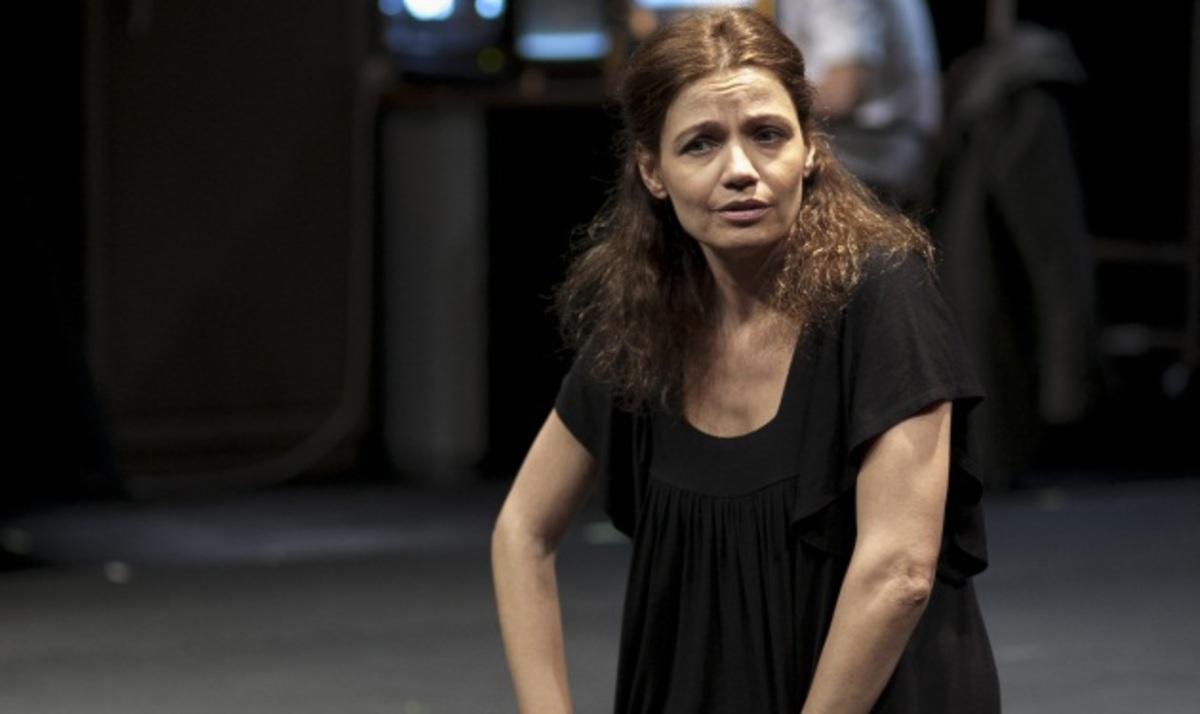 """Π. Βλαντή: Χωρίς ίχνος μακιγιάζ κάνει πρόβα για τη νέα της παράσταση """"Frozen""""!   Newsit.gr"""