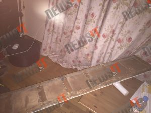 Βόμβα – μυστήριο στην Ιπποκράτους – Φωτογραφίες από το σπίτι της εισαγγελέως Τσατάνη