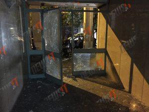 Video ντοκουμέντο λίγα λεπτά μετά την έκρηξη στην Ιπποκράτους