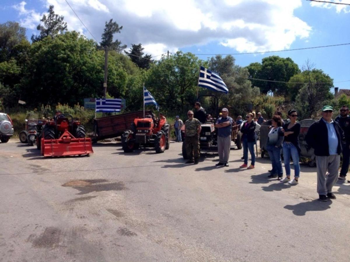 Χίος: Ξανά στους δρόμους οι κάτοικοι του Χαλκειούς για το hot spot