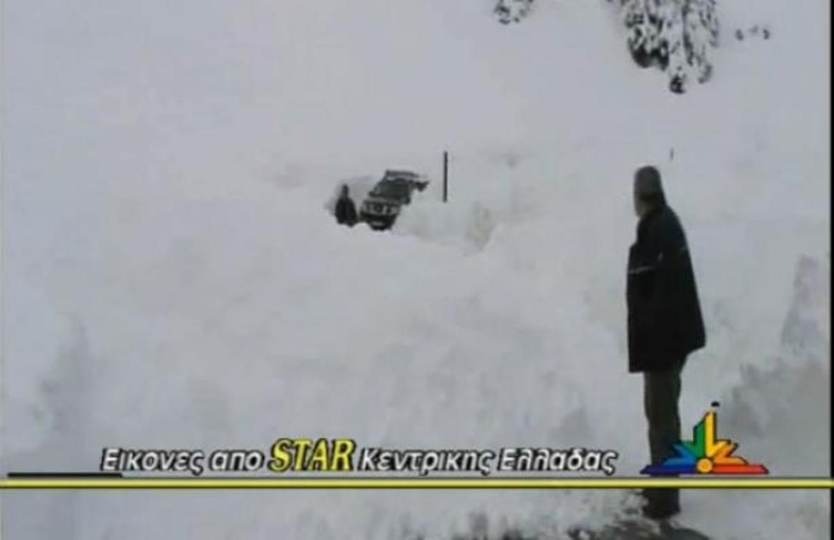 Ευρυτανία: Άγιο είχε συνεργείο της ΔΕΗ! Εγκλωβίστηκε σε χιονοστιβάδα – ΒΙΝΤΕΟ | Newsit.gr