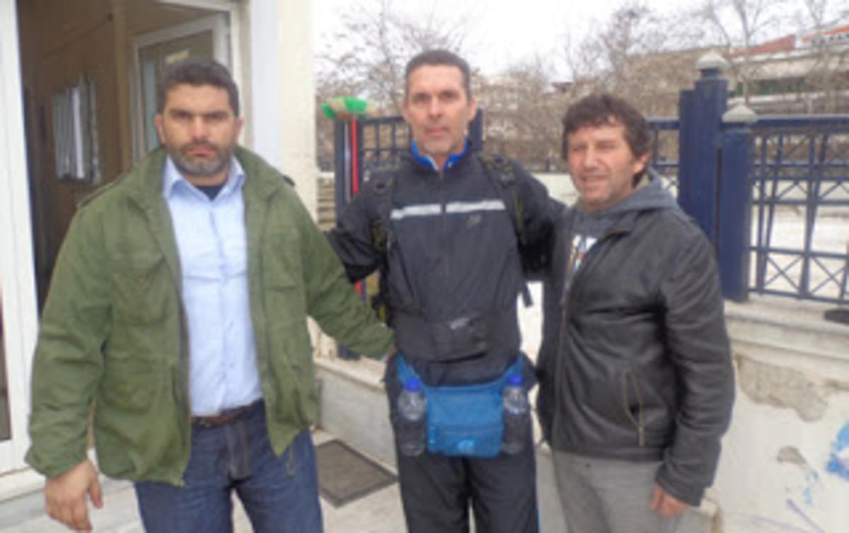Βοιωτία: Διαμαρτυρία 750 χιλιομέτρων – »Θα πάω με τα πόδια στην Αλεξανδρούπολη»!   Newsit.gr