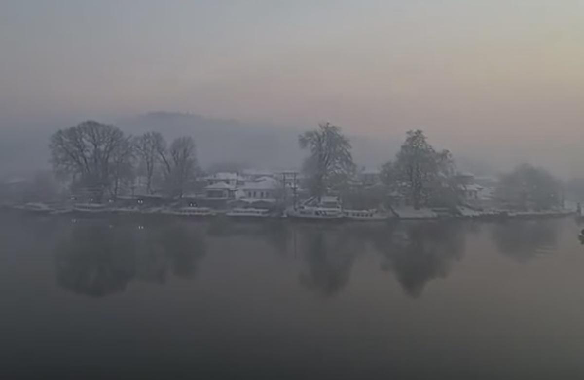 Καιρός: Τα Γιάννενα έγιναν Σκωτία – Μαγικές εικόνες στη λίμνη Παμβώτιδα που πάγωσε [vid] | Newsit.gr