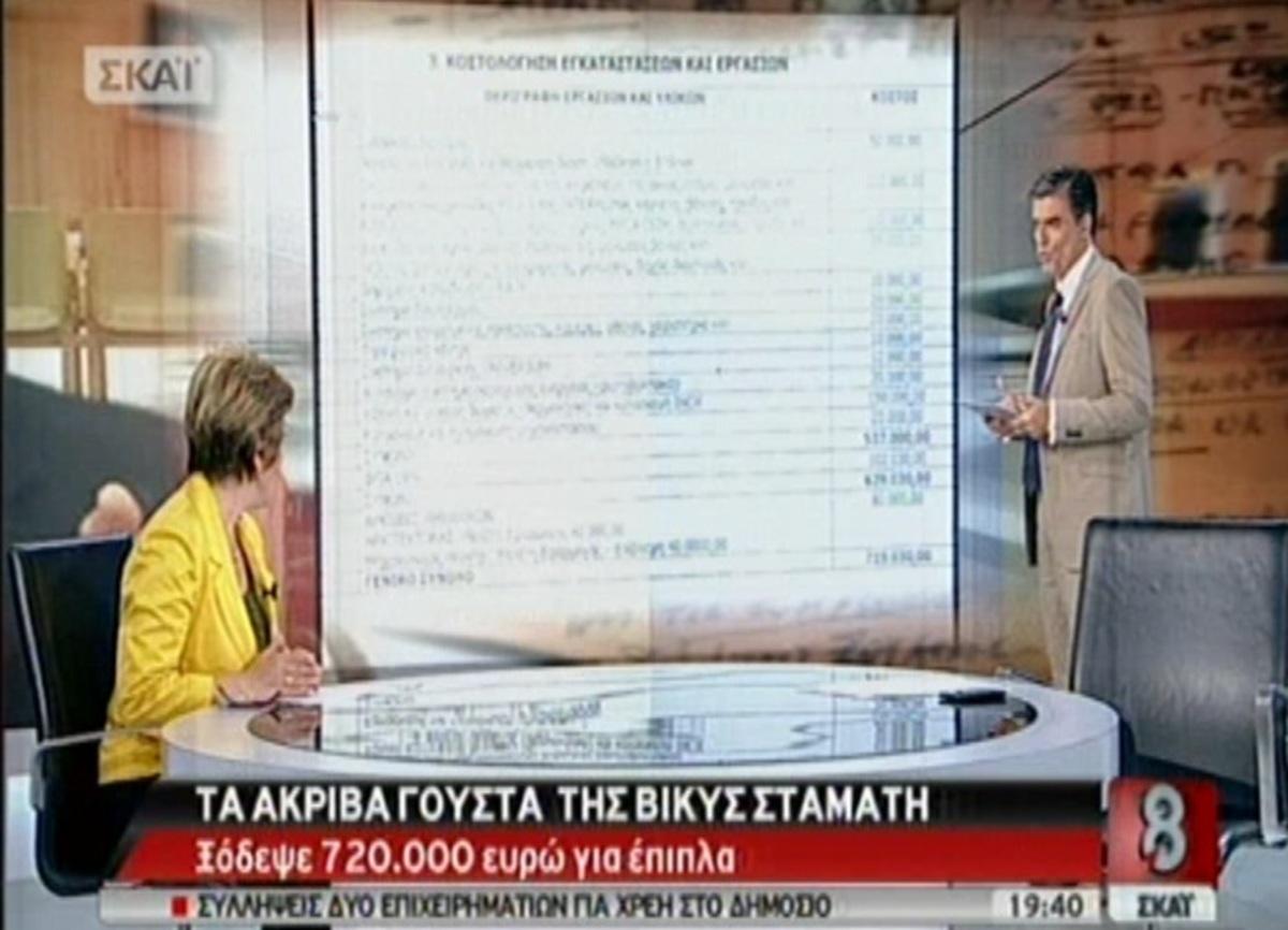 Κορδόνι για κουρτίνα 2.500 ευρώ και άλλα ακριβά γούστα της Βίκυς Σταμάτη! | Newsit.gr