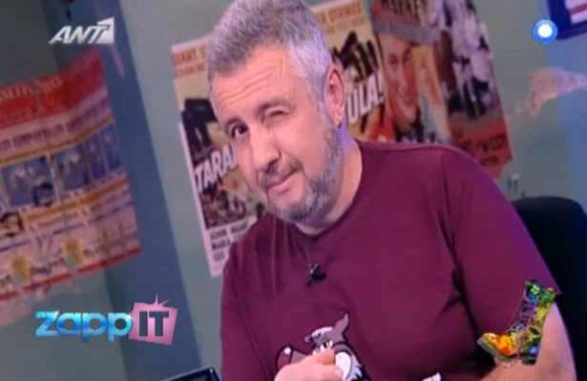 ΔΕΙΤΕ το προεκλογικό τατουάζ του Στάθη! | Newsit.gr