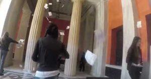 Το βίντεο της εισβολής του Ρουβίκωνα στο ΣτΕ
