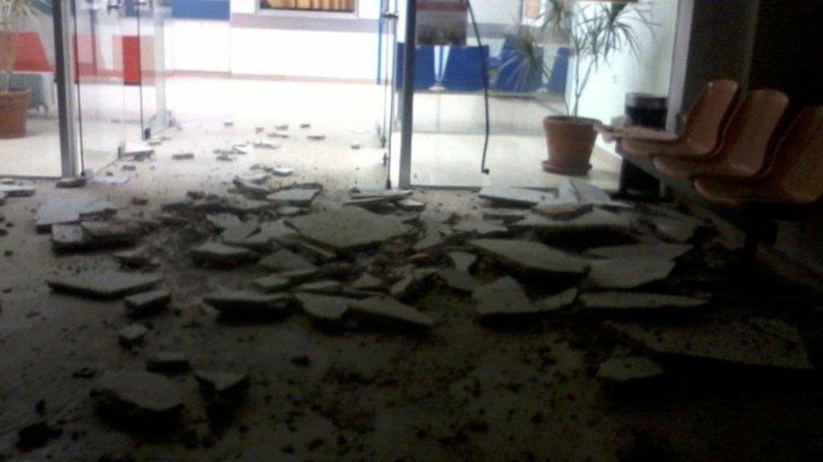 Ρέθυμνο:Η δημόσια υγεία καταρρέει-Έπεσε το ταβάνι νοσοκομείου! | Newsit.gr