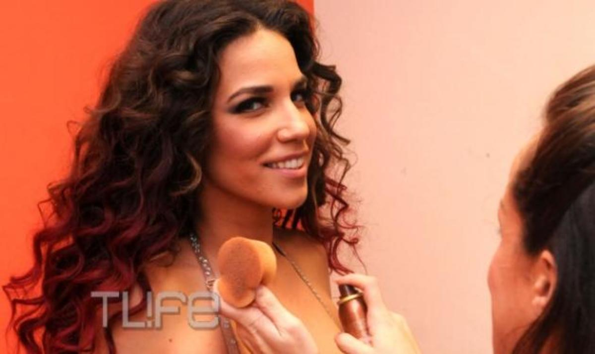 K. Στικούδη: Λεπτό προς λεπτό η προετοιμασία για τη σέξι εμφάνιση στο Dancing! Αποκλειστικές φωτογραφίες! | Newsit.gr