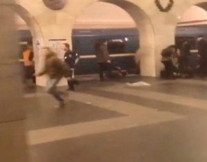 Συναγερμός στην Αγία Πετρούπολη – Τηλεφώνημα για βόμβα στο μετρό