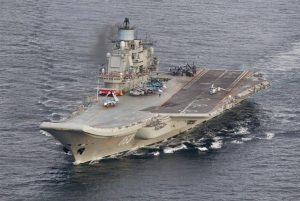 Ρωσικό Su-33 συνετρίβη κατά την προσνήωση σε αεροπλανοφόρο