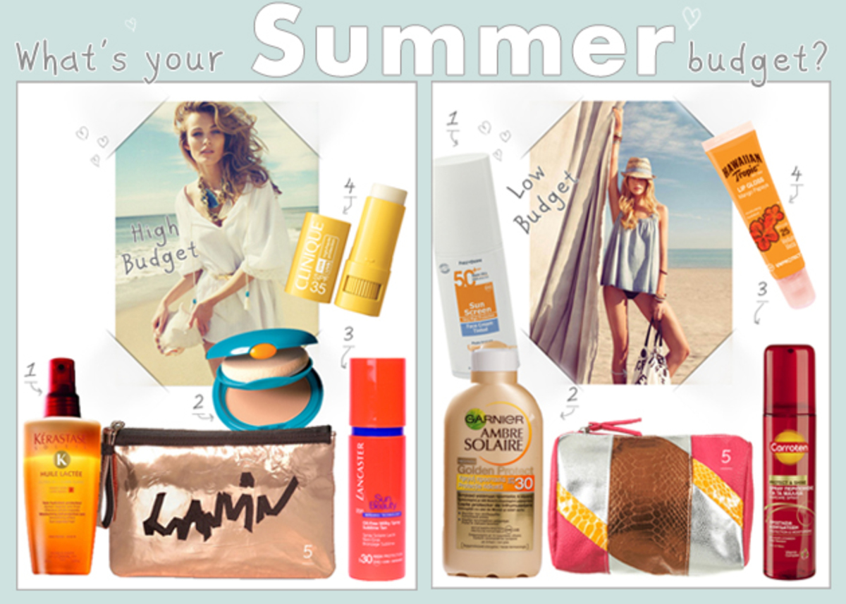High VS Low! Γέμισε το νεσεσέρ παραλίας ανάλογα με το budget σου!   Newsit.gr