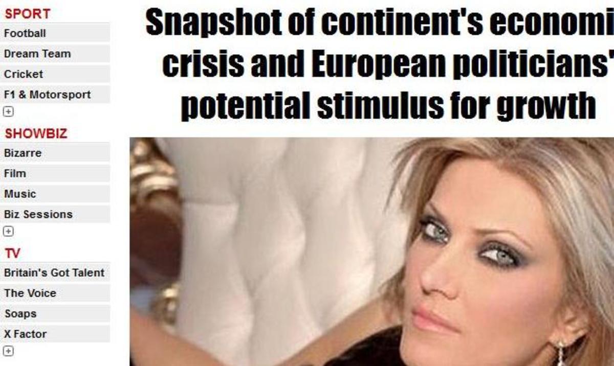 Εύα Καϊλή: Σύμφωνα με τη Sun, είναι η πιο σέξι πολιτικός της Ευρώπης | Newsit.gr