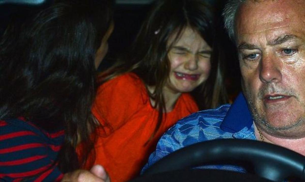 Γιατί ξέσπασε (ξανά) σε κλάματα η μικρή Suri Cruise;   Newsit.gr