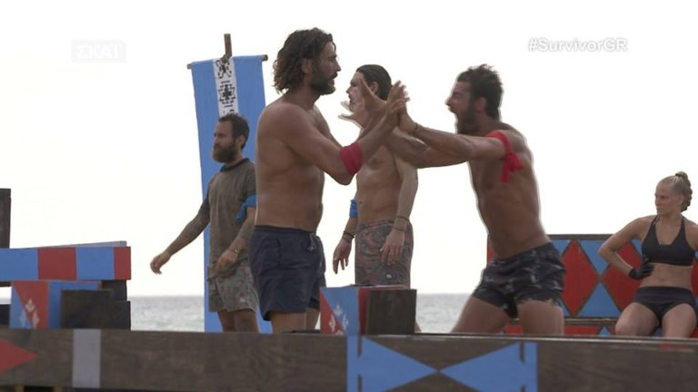 Survivor: Ο Σάκης, τα γενέθλια και το «φιλί» Βασάλου – Βαλαβάνη! [vids] | Newsit.gr