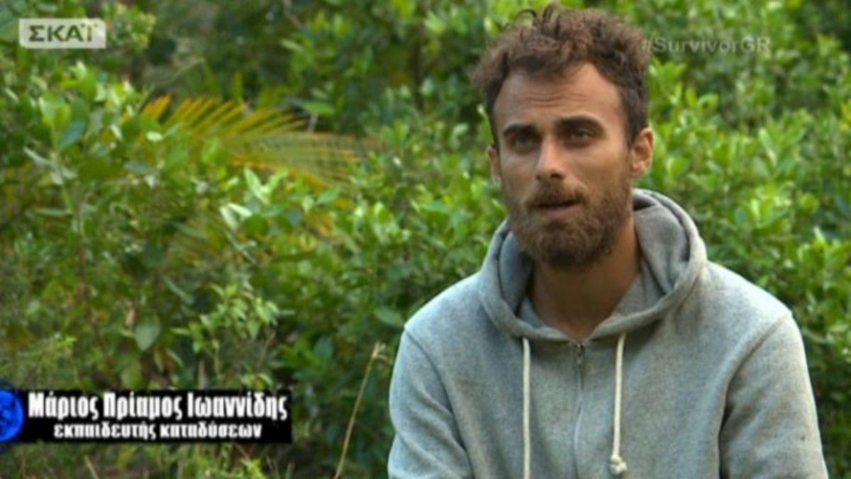 Μάριος Πρίαμος Ιωαννίδης Survivor: Το μόντελινγκ και η ξέφρενη ζωή! | Newsit.gr
