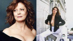 Σέξι Σούζαν Σάραντον: Στις Κάννες φορώντας μόνο το σακάκι της